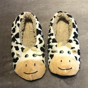 Shoes - Adorable cow slippers (never worn)